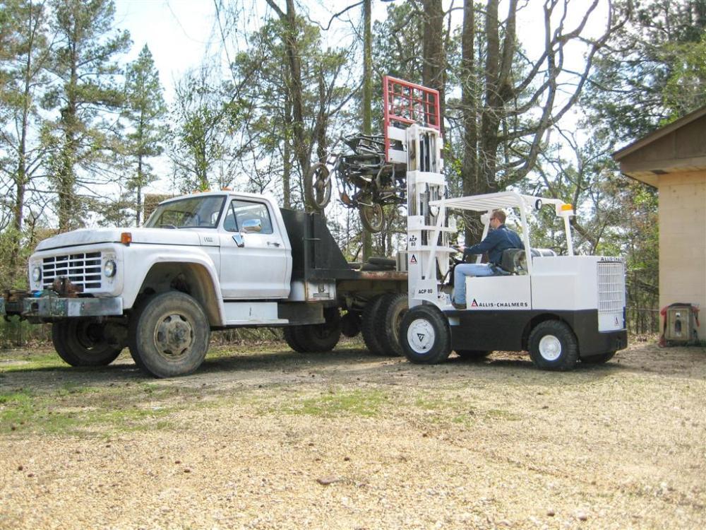 Allis-Chalmers ACP 80 Lift Truck (4/4)