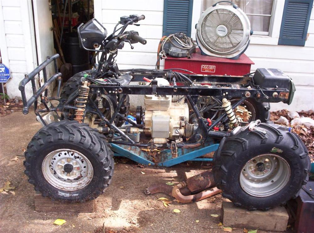 Project: Honda Foreman 450 to 475 (4/6)