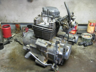 Completed Engine