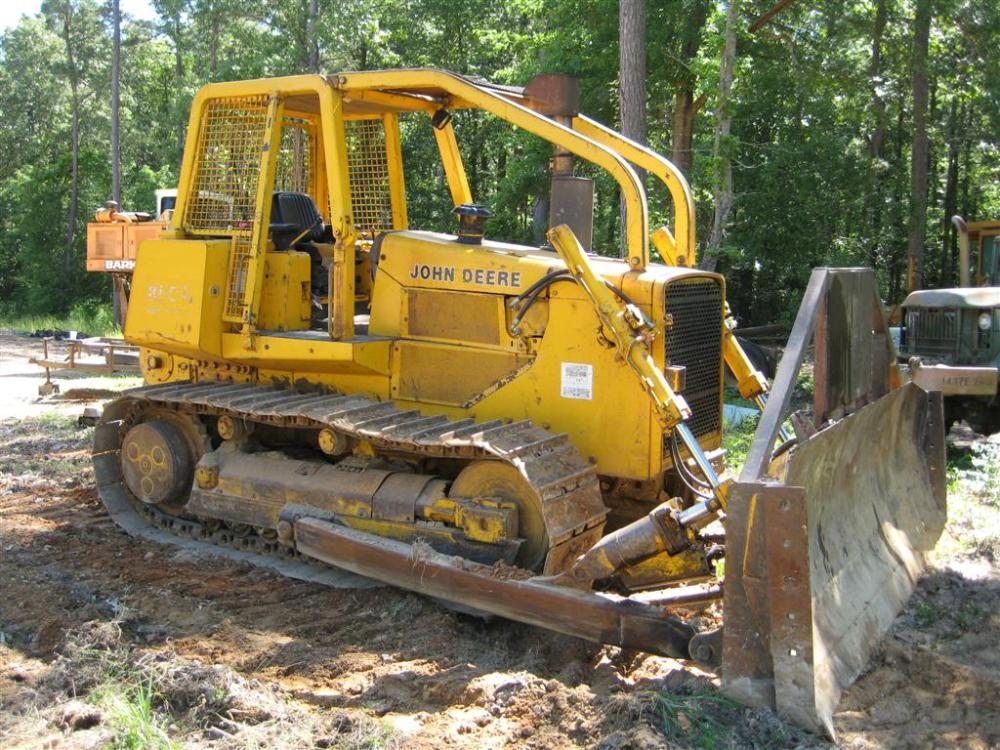 John Deere 850B Long-Track Dozer  (1/4)