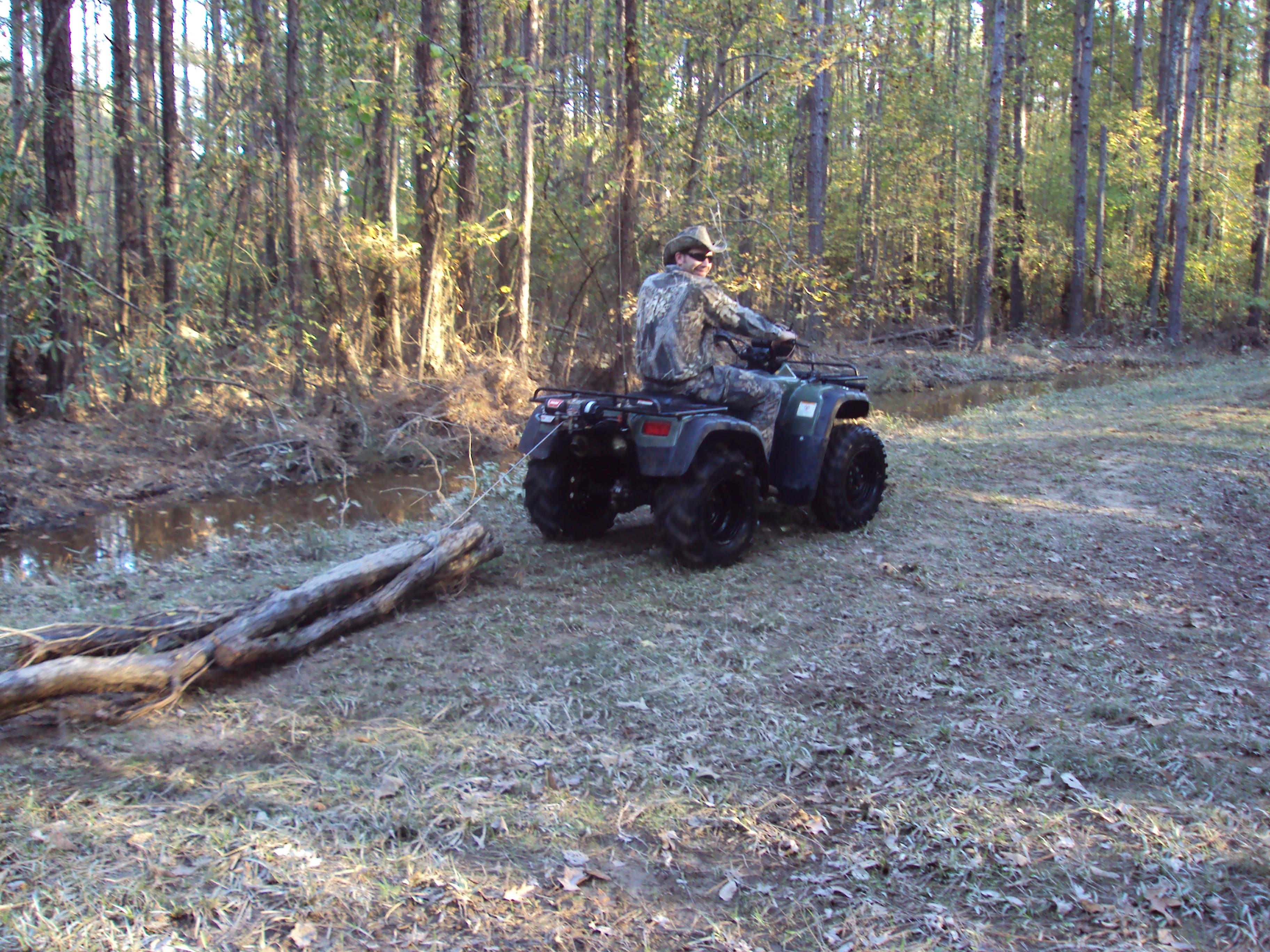 Honda Foreman in Action | Nicholas Fluhart