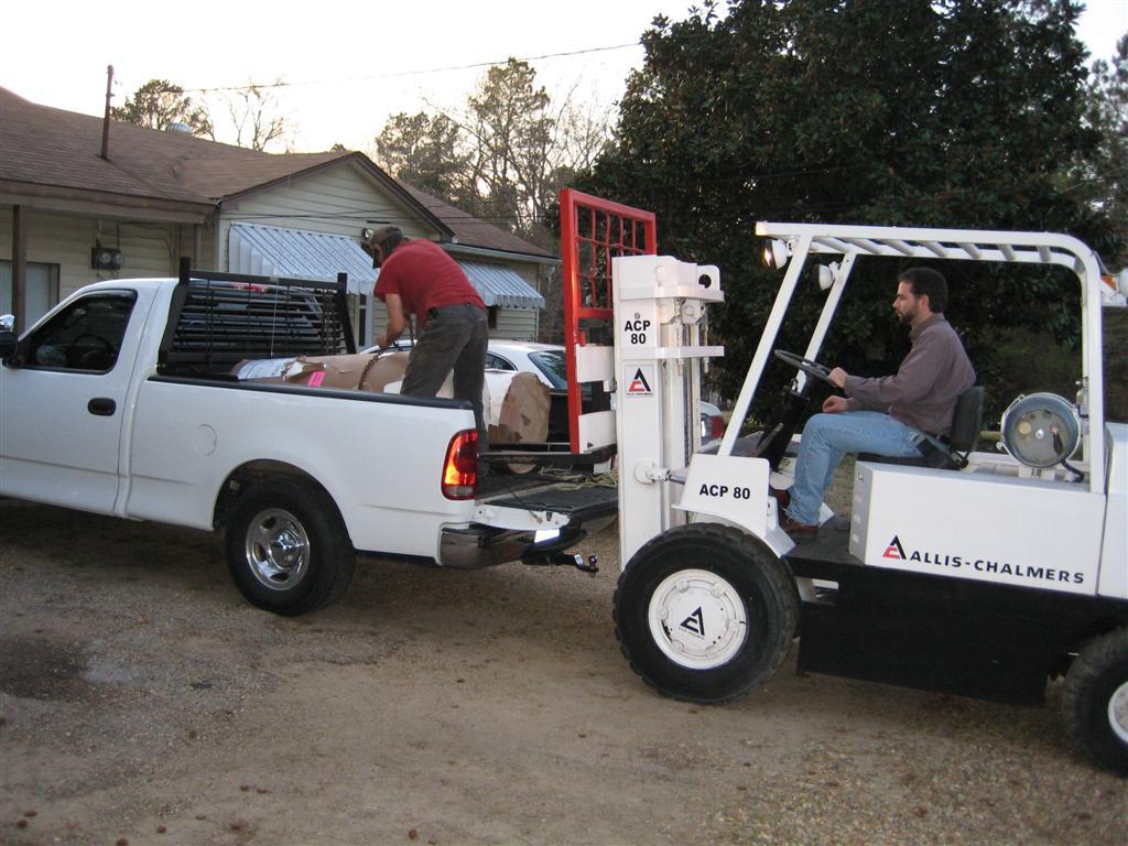 Allis-Chalmers Forklift | Nicholas Fluhart