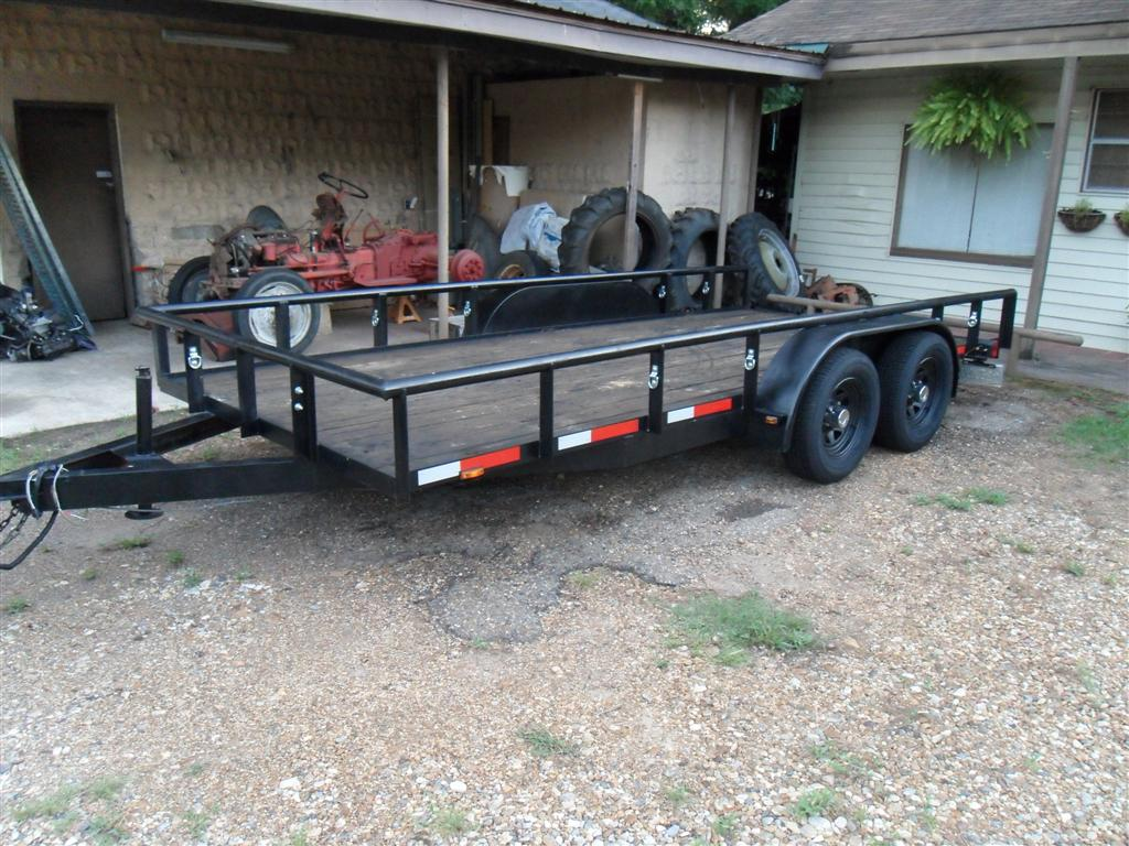 Trailers Nicholas Fluhart Trailer Light Wiring On Lights Uses Heavy Duty Landscaping Car 16 Ft Utility Part 1
