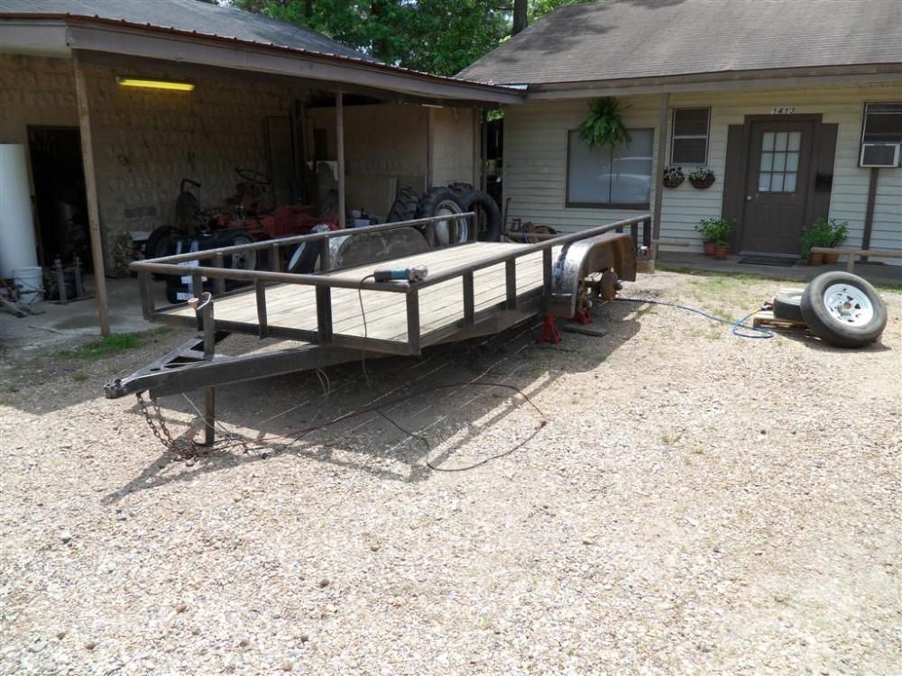 16 ft Utility Trailer - Part 2 (1/6)