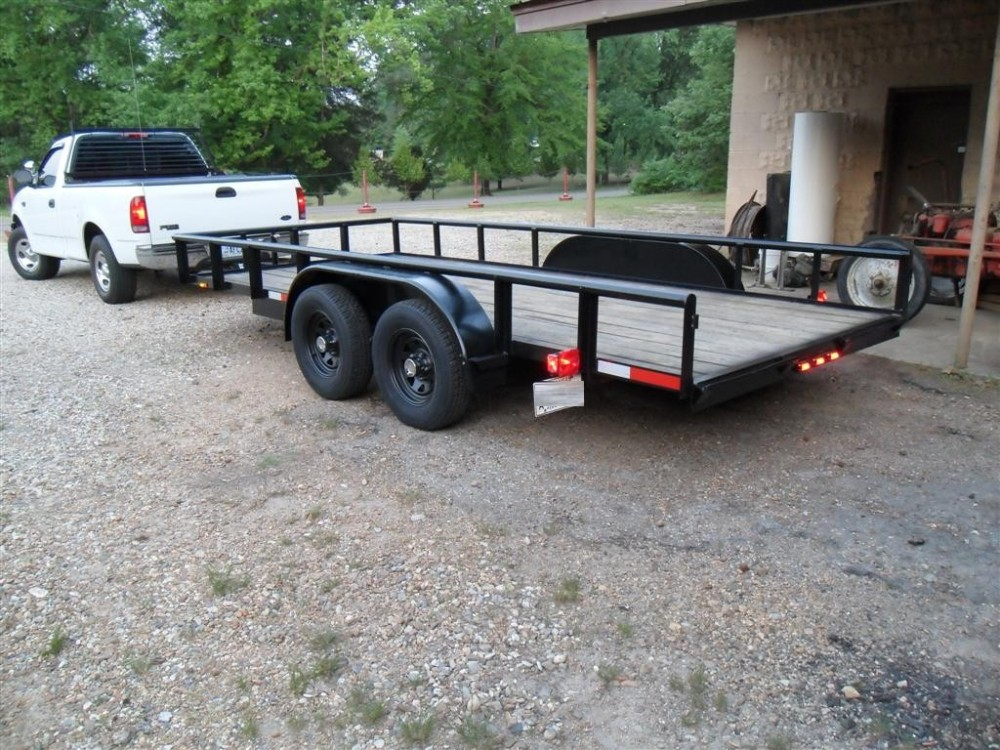 16 ft Utility Trailer - Part 2 (6/6)