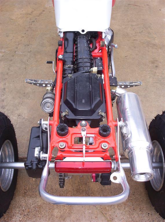 1986 Honda ATC350X Show Trike (2/6)