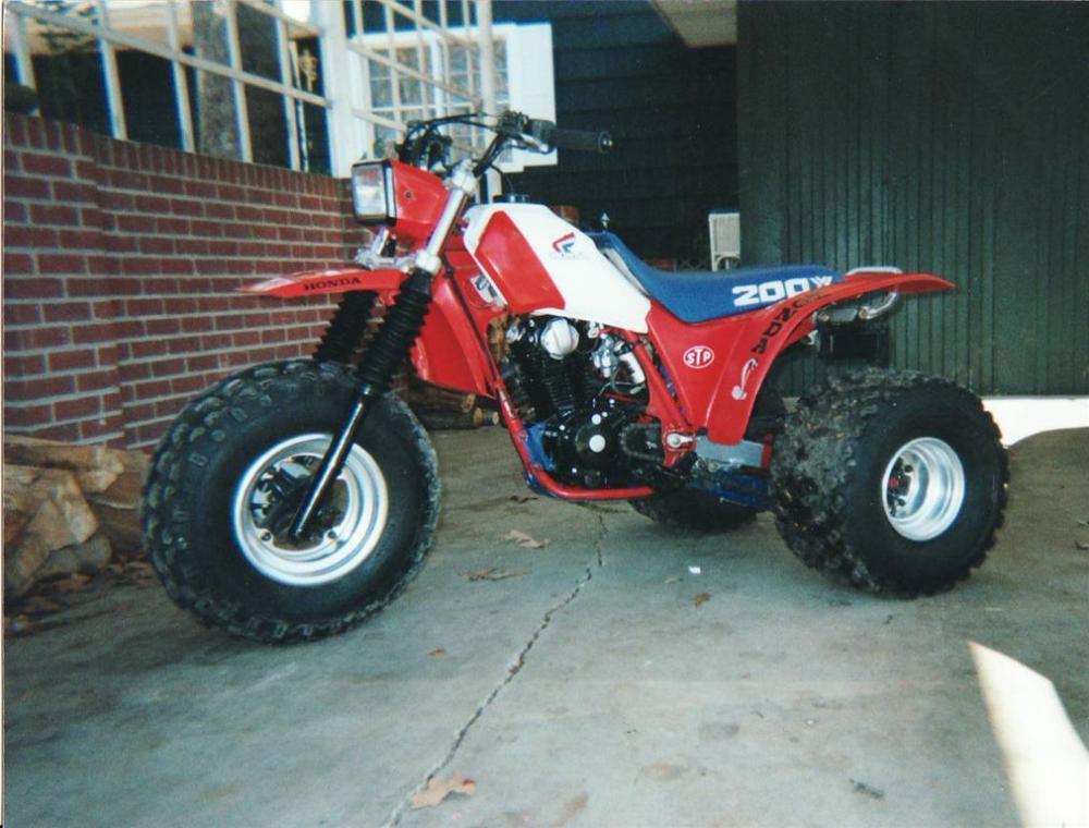 1985 Honda ATC200X (4/4)