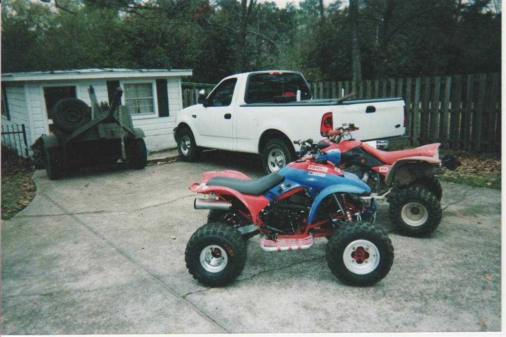 Honda TRX350XX (TRX250X - ATC350X Conversion) TRX350X (2/6)