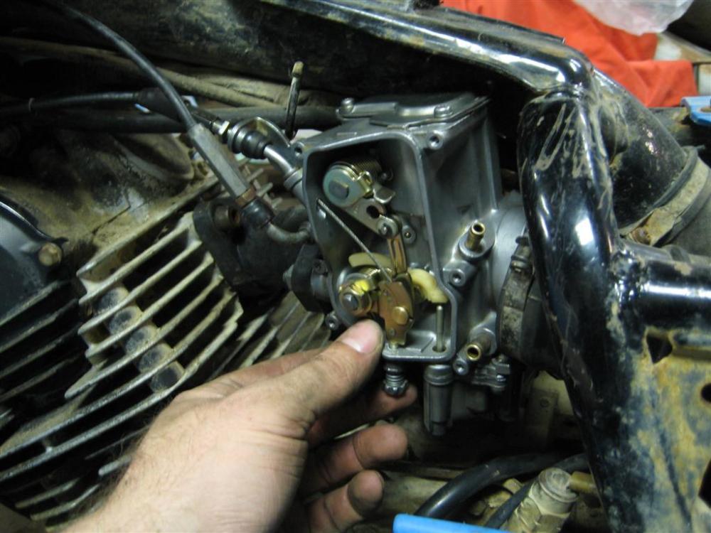 Project: Yamaha 350 Moto-4 (3/6)