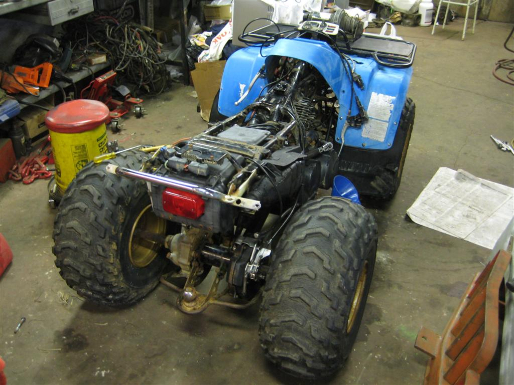 Project Yamaha 350 Moto 4 Nicholas Fluhart Diagram Parts Winch Atv Http Www Partzilla Com Search Polaris I Generally Utilize The Same Type Of Accessories On All My Utility Atvs Although Im Building This One To Sell Still May Use It Around Yard Or