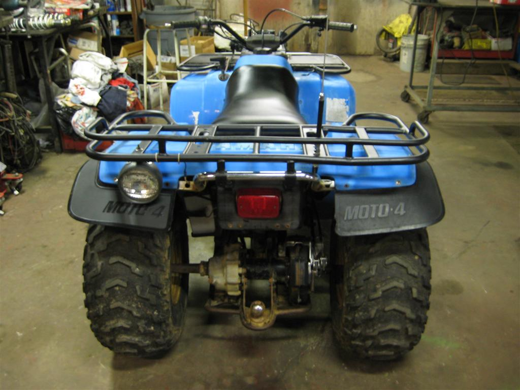 Project Yamaha 350 Moto 4 Nicholas Fluhart 88 Wiring Diagram And That Pretty Much Concludes This Long Ordeal Of A I Kept The Quad For Few Months Using It Around Yard Was Smooth Riding Machine