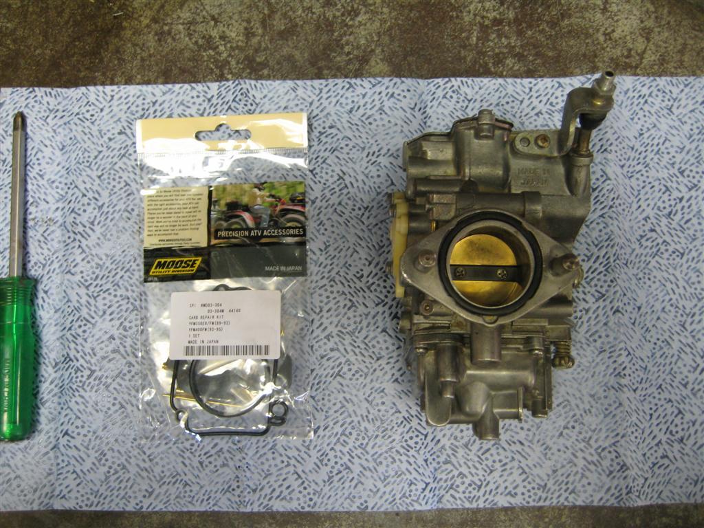 Project: Yamaha 350 Moto-4 | Nicholas Fluhart