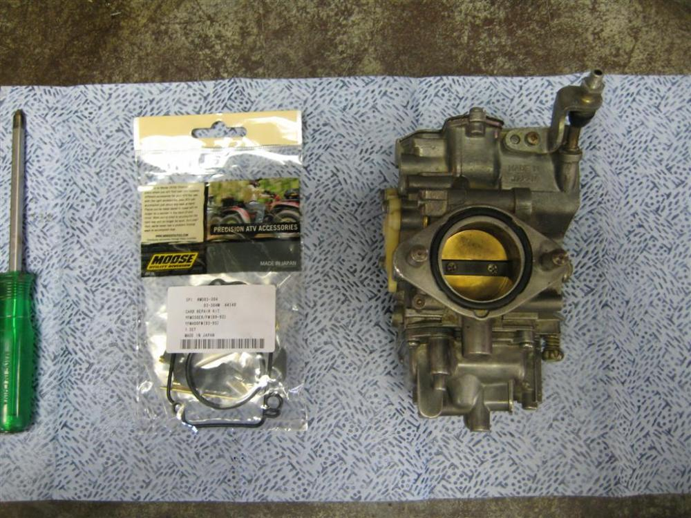 Project: Yamaha 350 Moto-4 (4/6)
