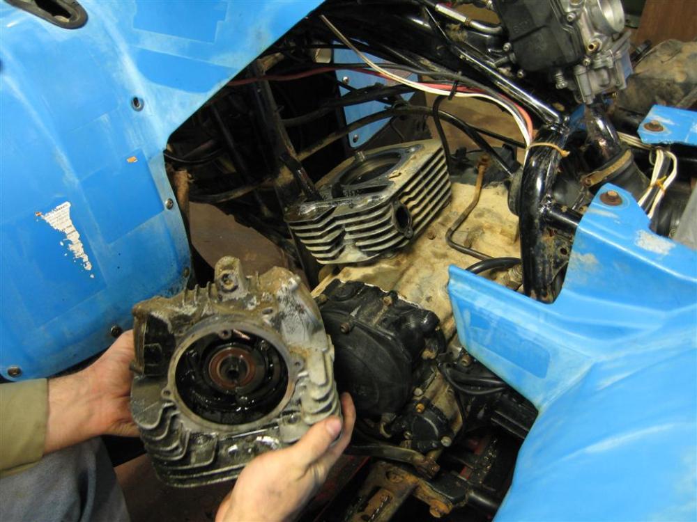 Project: Yamaha 350 Moto-4 (6/6)