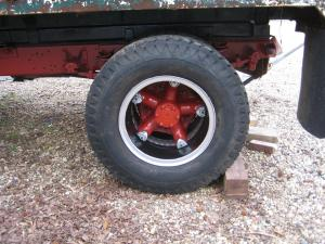 Rear Wheels