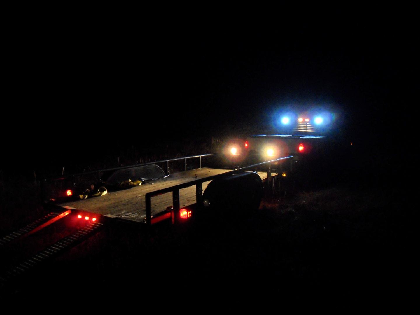 Led Ramp Under Koksskap : So far the lighting upgrades on my truck and trailer have worked