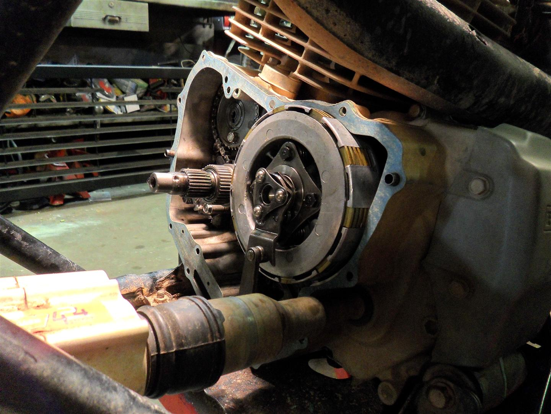 Foreman Upgrades Amp Repairs Part 2 Clutch Basket