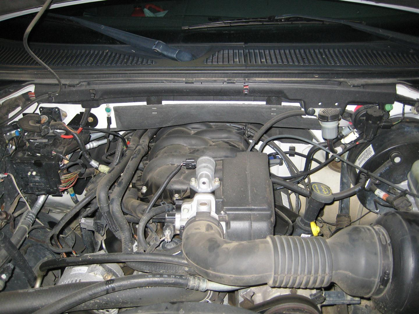 how to change vacuum pumpe on f-250 2011