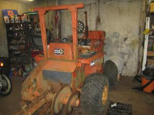 Ditch Witch in the Shop