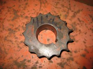 Sprocket Removed