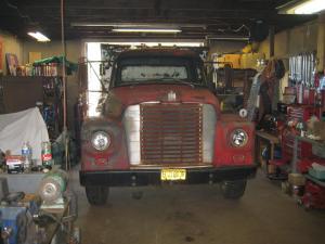 Dump Truck In Shop 1