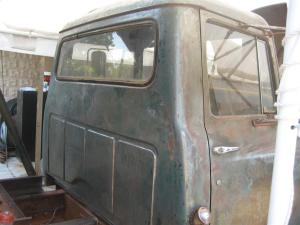 Back of Cab Stripped